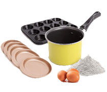 Baking Metal Molds Chefmade®