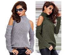 Svěží dámské svetry a další I
