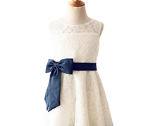 Flower Girl Dresses with Romantic Lace