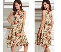 Elegante slank vallende jurken & meer