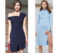 Elegante Basis Kleider
