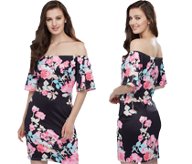 Summer Florals Women's Clothing Promotion