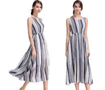 Elegante eenvoudige jurken