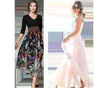Fantastische modieuze jurken
