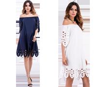 Enkle og elegante kjoler