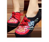 נעליים רקומות