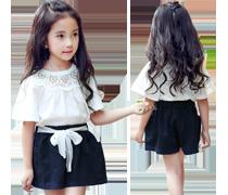 Bedruckte Kleider für Mädchen