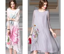 Elegante modieuze jurken II