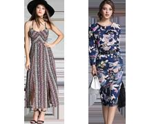 Divatos mintás ruhák