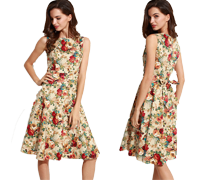50's Vintage Dresses