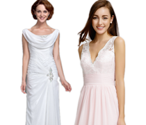 The White and Pink Collection-Wedding Dresses