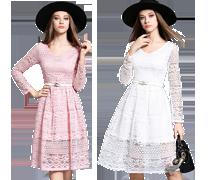 Elegantní jednoduché šaty II