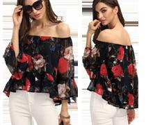 Fashion Ruffles Women's Dresses Promotion