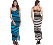 Summer Fine Stripe Clothes on Sale