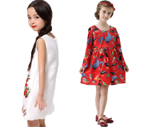 Girls' Floral Dresses on Sale