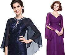Mother of the Bride Dresses with Long Sleeves