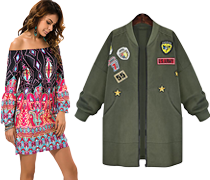 Print & Embroidered Clothing for Women