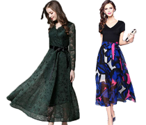 Maxi-kjoler