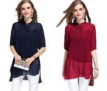 Summer Chiffon Women's Tops on Sale