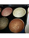 6 Ögonskuggspalett Skimmrig Ögonskugga palett Puder Normal Vardagsmakeup / Sotig makeup