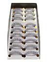 aspect naturel et blackbands cils 018 # - 10 paires par boîte (jjm045)