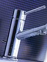 laiton chromé finition robinet d'évier de salle de bains
