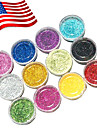 12 Colors Acrylic Powder Set For 3D Nail Art 120g