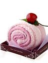 rosa tårta stil handduk