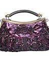 vackra siden kväll handväskor / kopplingar / bästa väskor hantera fler färger