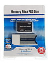 8GB Memory Stick PRO Duo minneskort och Memory Stick Duo-adapter