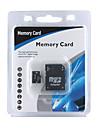 4 GB Micro SDHC minneskort med SD adapter (cmc003)