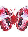 Brille dans le noir papillon 6pcs maison mur 3d papillon autocollants avec broche ; rideaux aimant de décoration