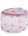kvinnor strumpor behå underkläder tvättpåse skyddsnät (ramdon färg)