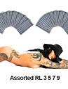200 pièces stérilisées doublures rondes assorties (rl) aiguilles de tatouage (taille 3 5 7 9)