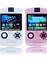 2,4-Zoll-Spiel mp4-Player mit Digitalkamera (8 GB, weiß / pink)
