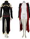 Inspiré par Code Gease C.C. Anime Costumes de cosplay Costumes Cosplay Mosaïque Noir Sans ManchesVeste / Robe / Shorts / Manche /