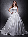 Lanting Bride® Corte en A / Salón / PrincesaManzana / Reloj de Arena / Triángulo Invertido / Misses / Pera / Tallas pequeñas / Tallas