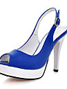 similicuir plate-forme supérieure talon aiguille avec boucle chaussures soirée / (1180-24190909) plus de couleurs disponibles