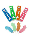 Protective Silicone Case for Wii/Wii U Remote and Nunchuk Controller (Random Colors)