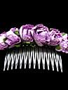 mooie papieren bloem weddiing bruids-hoofddeksel / hair pin (1187-ts-th84)