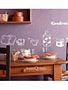 morgonen dekorativ vägg sticker (0565-1105056)