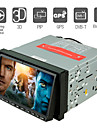 7 tums digital pekskärm bil dvd-spelare med gps bluetooth dvb-t rds pip 3d