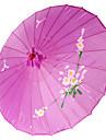"""Mătase Ventilatoare și umbrele de soare Piece / Set Umbrele de soare Temă Grădină Temă Asiatică Liliac19""""înălțime x 32 1/3"""" în"""