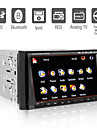 7 Inch Digital Touchscreen 2Din Car DVD Player with GPS TV  Bluetooth  RDS