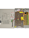9-Channel 12V DC 10A Regulated Power Supply for CCTV  System
