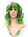 korkiton pitkä 100% Kasi kuitua vihreä puku osapuoli peruukki