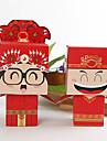 stil chinezesc mireasa si mirele cutie favoarea (set de 12)