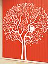 Big Tree și bufnita autocolante de perete (1985-D5)