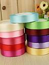 Culoare solidă Satin Panglici de nunta Piece / Set Panglică satin