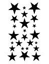 #(5) Tatueringsklistermärken Annat Mönster VattentätDam Tjej Tonåring Blixttatuering tillfälliga tatueringar